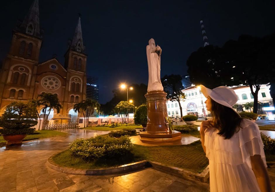 サイゴン大聖堂 ホーチミン・前撮り ベトナムウェディング