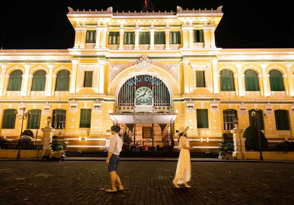 ホーチミン中央郵便局 ベトナム・ウェディング ベトナム結婚式