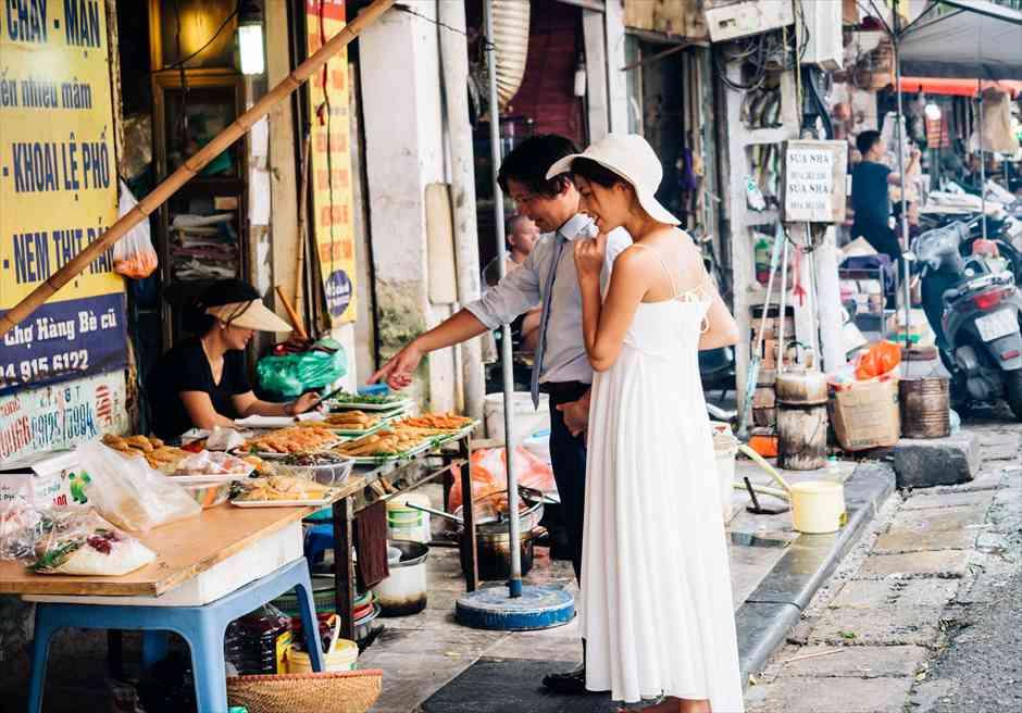 ハノイ旧市街 ハノイウェディング ハノイ結婚式