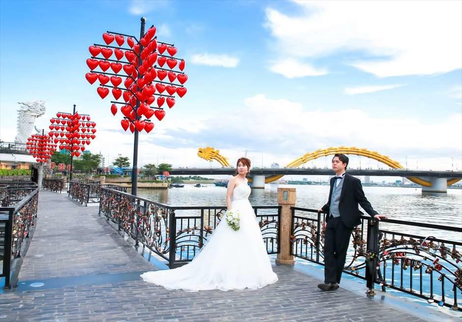 ダナンウェディング ベトナムウェディング ベトナム挙式 ダナン挙式 ドラゴンブリッジ