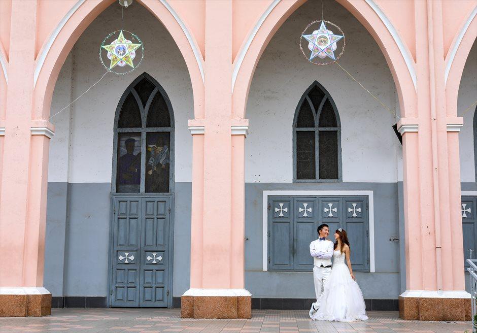 ダナン大聖堂 ベトナムウェディング ベトナムフォトウェディング