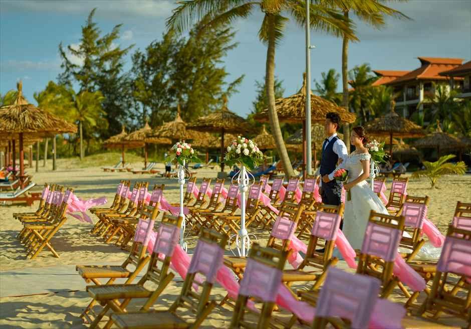 フラマ・リゾート・ダナン フラマ・ビーチ挙式 ベトナム結婚式 ダナン・フォトウェディング