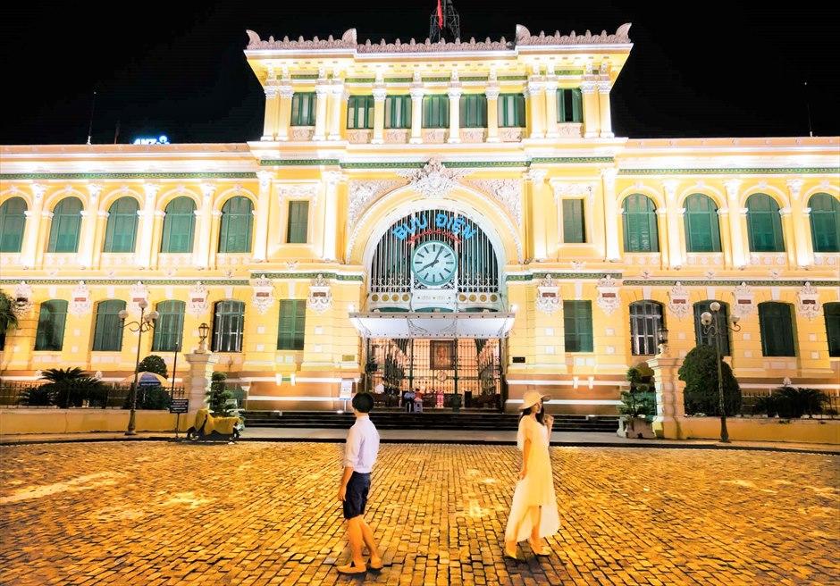 ホーチミン中央郵便局 ベトナムウェディングフォト ホーチミン前撮り ホーチミン・フォトウェディング