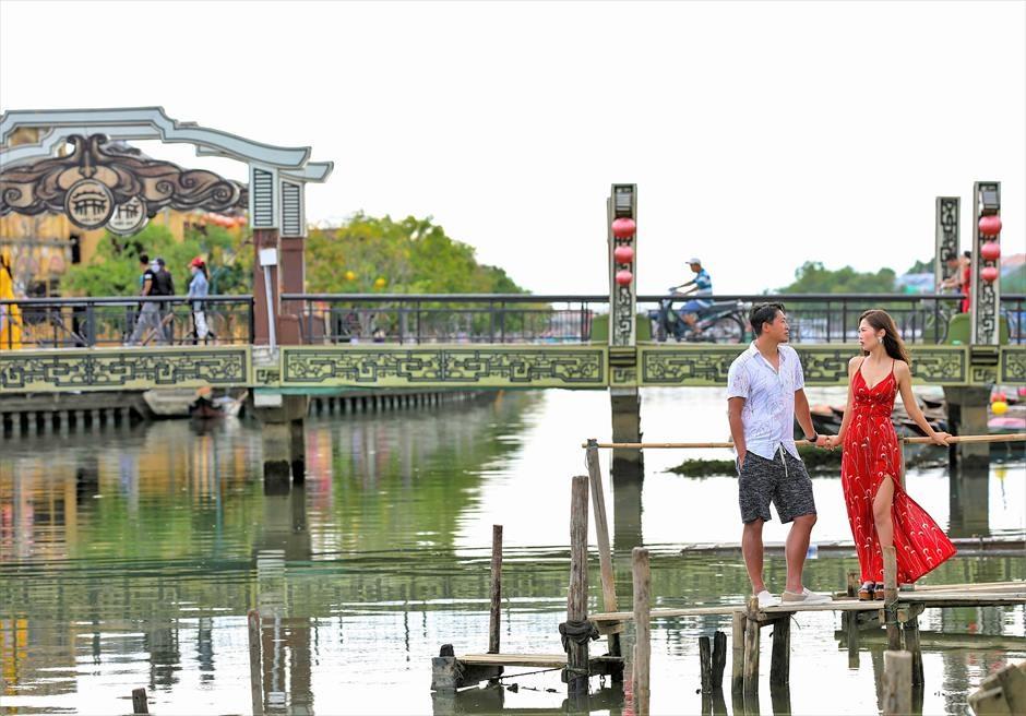 ホイアン旧市街 ホイアン・リバー ホイアン・前撮り ベトナム・ウェディングフォト