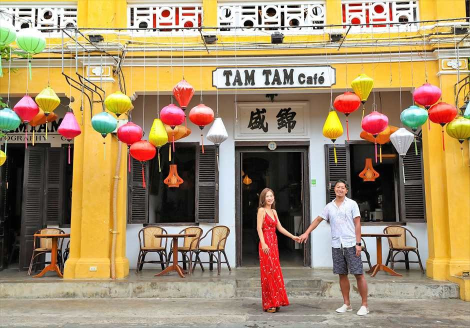 ホイアン旧市街 ホイアン・フォト ベトナムウェディングフォト ベトナム・フォト