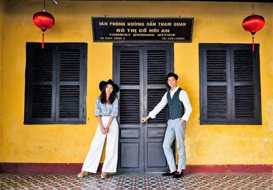 ホイアン旧市街 ホイアン・フォトウェディング ベトナム・前撮り ベトナム・ウェディングフォト