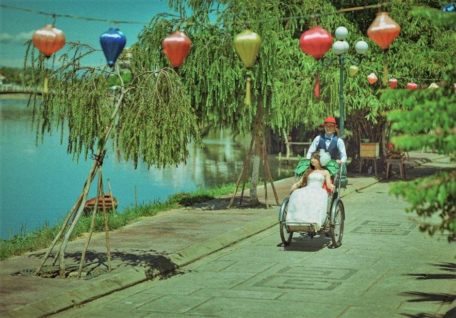 ホイアン旧市街 ホイアン・シクロ ベトナム・ランタン ホイアンフォトウェディング