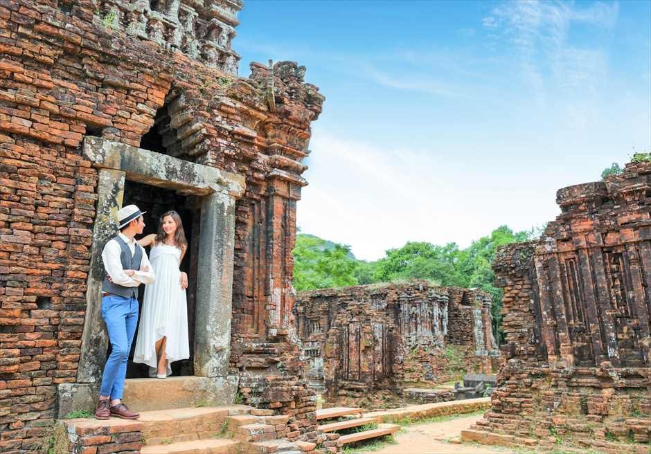 ミーソン遺跡 ベトナム・世界遺産 世界遺産・ウェディング ベトナム・フォトウェディング