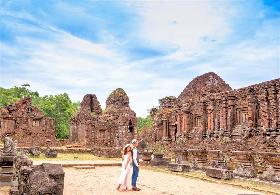 ベトナム・ミーソン遺跡 ベトナム・世界遺産 ベトナム・ウェディングフォト ダナン・ウェディングフォト