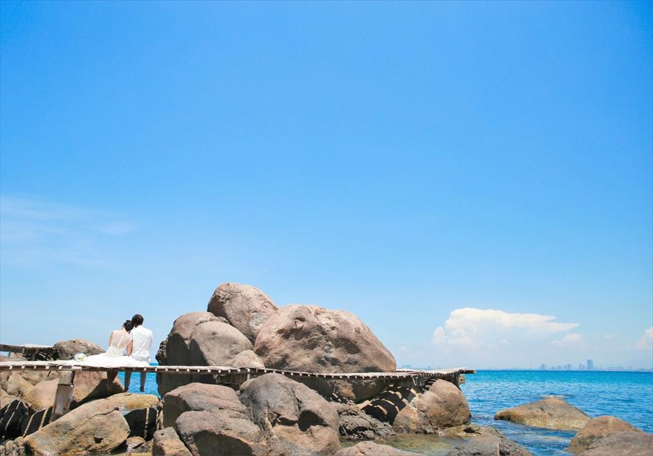ダナン・ソンチャ半島 ベトナム・後撮り ベトナム・ウェディングフォト ダナン・ウェディングフォト