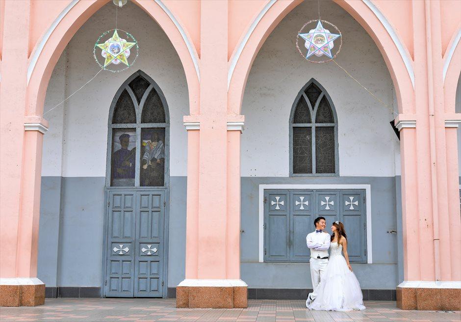 ベトナム・ダナン大聖堂 ダナン大聖堂・ウェディング ベトナム・フォトウェディング ダナン・前撮り