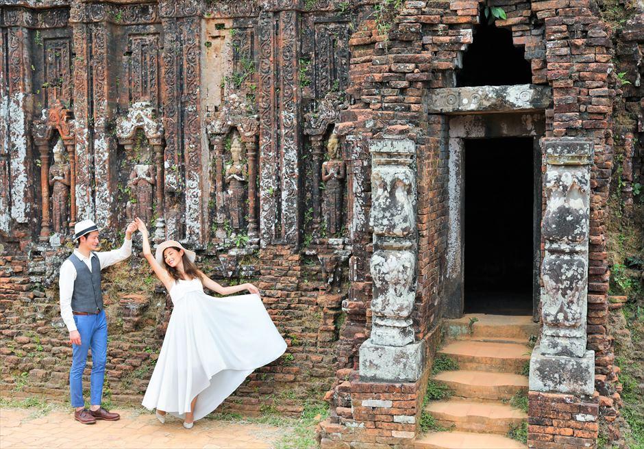 ベトナム・ミーソン遺跡 ベトナム・世界遺産 ベトナム・フォトウェディング ダナン・フォトウェディング