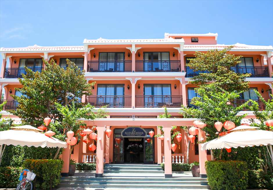 ベトナム・ウェディングフォト ホイアン・前撮り アレグロ・ホイアン・ホテル&スパ ベトナム前撮り